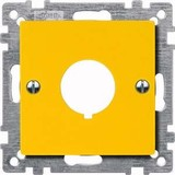 Merten Zentralplatte ge für Not-Ausschalter 393903