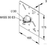 Niedax Montageplatte MIMPA 30/175 E3
