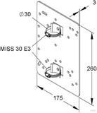 Niedax Montageplatte MIMPA 30/260 F