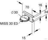 Niedax Montageschiene MIMS 30 E3