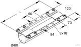 Niedax Montageträger MIMTA 60/525 F