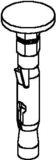 Niedax Nagelanker NA 6X5