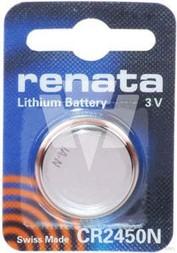 Panasonic Lithium-Knopfzelle 3V 540mAh Renata 2450N