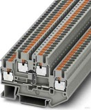 Phoenix Contact Durchgangsreihenklemme 0,14-4qmm, 5,2mm, gr PTTB 2,5