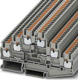 Phoenix Contact Durchgangsreihenklemme 0,14-4qmm, 5,2mm, gr PT 2,5-3L