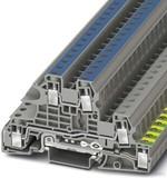 Phoenix Contact Installations-SL-Kl. 0,2-10qmm, grau UTI 6-PE/L/N