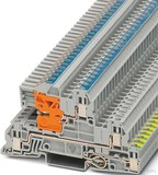 Phoenix Contact Installationsetagenklemme 0,2-4qmm 5,2mm gr UTI 2,5-PE/L/NT