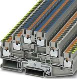 Phoenix Contact Schutzleiter-Reihenklemme 5,2 mm, grau PT 2,5-PE/L/N (50 Stück)