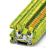 Phoenix Contact Schutzleiterklemme 0,5-10qmm grün-gelb PTI 6-PE