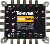 Preisner Televes Multischalter 5 in 6 Guß NEVO recpower kask. MS56C
