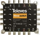 Preisner Televes Multischalter 5 in 8 Guß NEVO recpower kask. MS58C