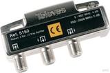 Preisner Televes Verteiler 2f. 5-2400Mhz 5dB SAV25FN