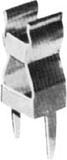 Scharnberger+Hasenbein Haltefeder f.Sicherungen 5mm 60970 (10 Stück)