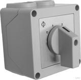 Schultze Manueller 3-St.-Schalter 230V 20A IP42 AP 1-S123