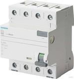 Siemens FI-Schutzschalter 40A,3+N,30mA,400V 5SV3344-6