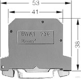Siemens PEN-Klemme gn/ge, 12mm, Gr.16 8WA1011-1PK00