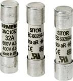 Siemens Zylindersicherungseinsatz 10A,600V AC/400VDC 3NC1010 (10 Stück)