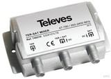 Televes Einschleusweiche Guß 1xSat/terr SingleLNB ESW101LTE