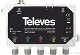 Televes Optischer Quattro-Umsetzer SAT-QUAD+terr. OMS44TSN
