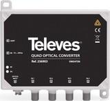 Televes Optischer Umsetzer SAT-QUAD + terr. OMS4TSN