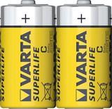 Varta Batterie Superlife C Baby,R14,Zink-Karbon 2014 Fol.2 (12 Stück)