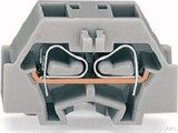 WAGO 4-L.Klemme 2x0,08-1,5mmq grau 260-331