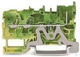 WAGO Basisklemme 2-Leiter/1-Pin-PE 2022-1307 (100 Stück)
