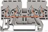 WAGO Durchgangsklemme 0,08-2,5/4mmq grau 870-831
