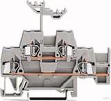 WAGO Durchgangsklemme 0,08-2,5mmq grau 280-520