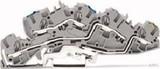 WAGO Installations-Etagenklemme N/L/PE 4/6qmm grau 2005-7646