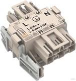 WAGO Linect-T-Steckverbinder Buchse-Stecker 3-p. 770-6223 (25 Stück)