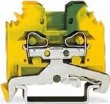 WAGO Schutzleiterklemme 0,08-4qmm gn/gelb 281-107