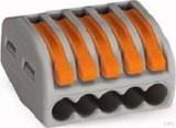 WAGO Verbindungsklemme 5x0,8-4qmm gr 222-415 (40 Stück)