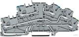Wago Etagenklemme 2003-6640 TOPJOB S N/L/PE grau (50 Stück)