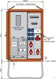 Walther Anschlussverteilerschrank 44kVA m.Zählerplatz WAV0170R1
