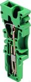 Weidmüller Einzelscheiben Stecker ZP 2.5/1AN GN (50 Stück)