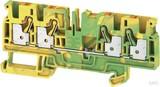 Weidmüller Reihenklemmen A-Reihe Universal A4C 4 PE (50 Stück)