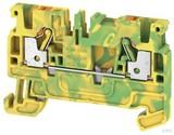 Weidmüller Schutzleiter-Reihenklemme 2,5qmm, gn/ge A2C 2.5 PE (50 Stück)