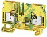 Weidmüller Schutzleiter-Reihenklemme 6qmm, gn/ge A2C 6 PE (50 Stück)